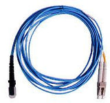 1m MTRJ - LC Duplex 50/125µm/1.6mm 10Gig OM3 Multimode Patch Cable