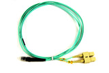 1m MTRJ - SC Duplex 50/125µm/1.6mm 10Gig OM3 Multimode Patch Cable