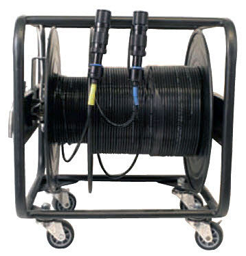 Broadcast Cable Reel - 480mm (L) x 450mm (W) x 535mm (H) - (18.9 x 17.7 x 21.1 inch)