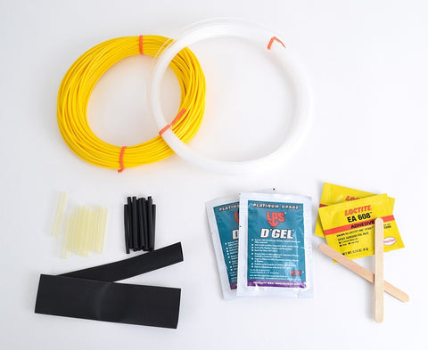 Universal Breakout Kit - Yellow Furcation Tube for Single Mode Fibers