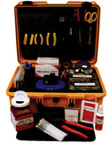 Universal Fiber Fusion Splicing Tool Kit with High Precision Fiber Cleaver