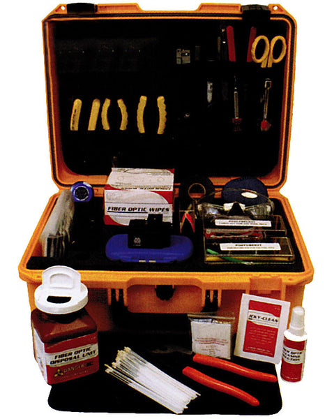 Universal Fiber Fusion Splicing Tool Kit With High
