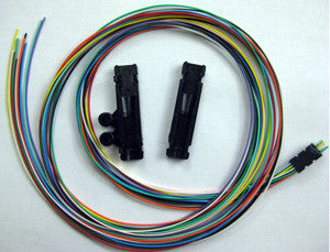 "4 Fiber Buffer Tube & Ribbon Fan-out Kit, 25"" Tubing, Accepts 250µm"