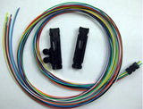 "6 Fiber Buffer Tube & Ribbon Fan-out Kit, 25"" Tubing, Accepts 250µm"