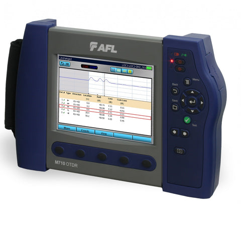 AFL M710 Single Mode Dual 1310/1550nm 40/38dB OTDR