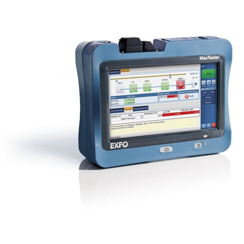 EXFO MAX-720C Access Single Mode OTDR 1310/1550nm SC/APC 36/35dB with Visual Fault Locator and Power Meter