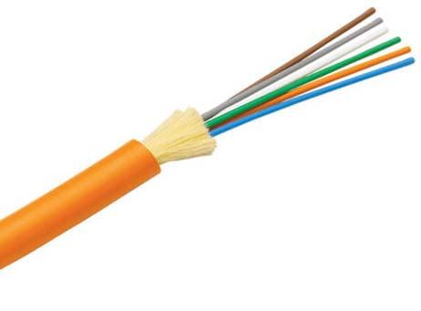 50/125µm OM2 Multimode Indoor Distribution Cable - Corning ClearCurve OM2 Fiber