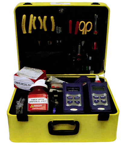 Single Mode Termination and Test Tool Kit (SC, ST, FC)
