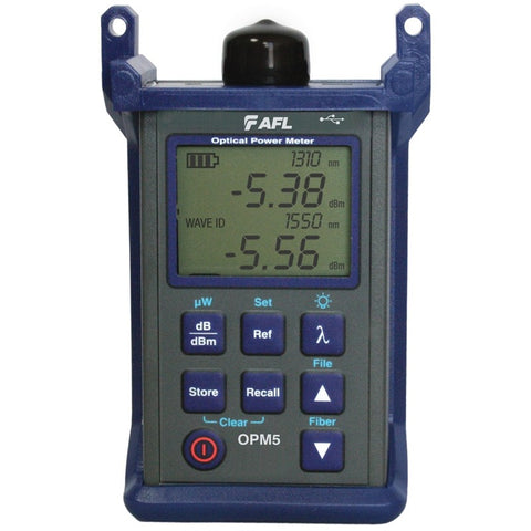 AFL Power Meter +26 to -50dB, 850, 1300, 1310, 1550nm
