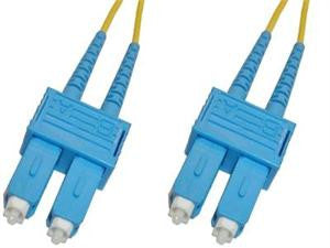 SCP-SCP-SD9 - SC/UPC to SC/UPC singlemode 9/125 duplex fiber optic patch cord cable, 0.5m