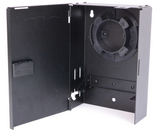 2 Adapter Plate Mini Wall Mount Enclosure (Unloaded)