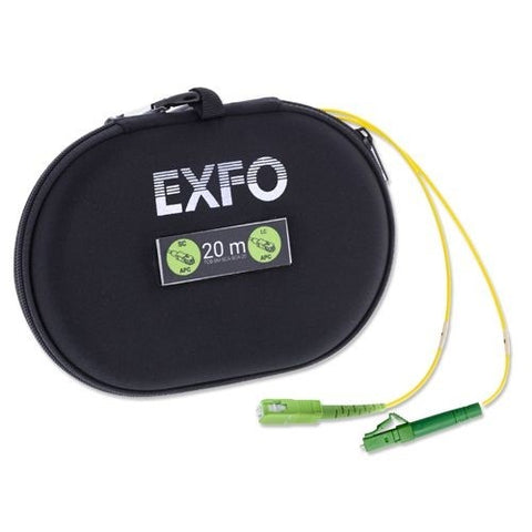 EXFO Single Mode Test Cord Box, SC/APC to LC/APC, 20 Meters