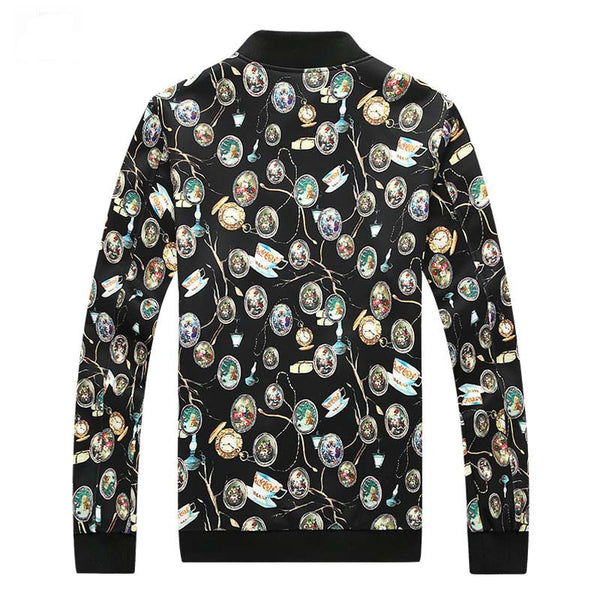 Jacket for Men with Color Printing