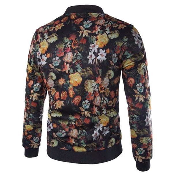 Jacket with Color Prints