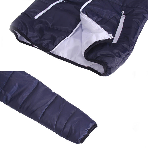 Dark Blue Down Jacket