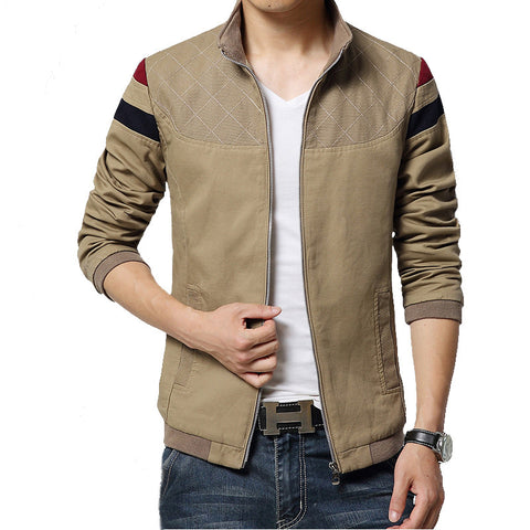 Trend Casual Jacket Khaki