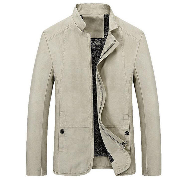 Spring Autumn Casual Jacket 4 Colors