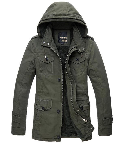 Mens Super Warm Greatcoat