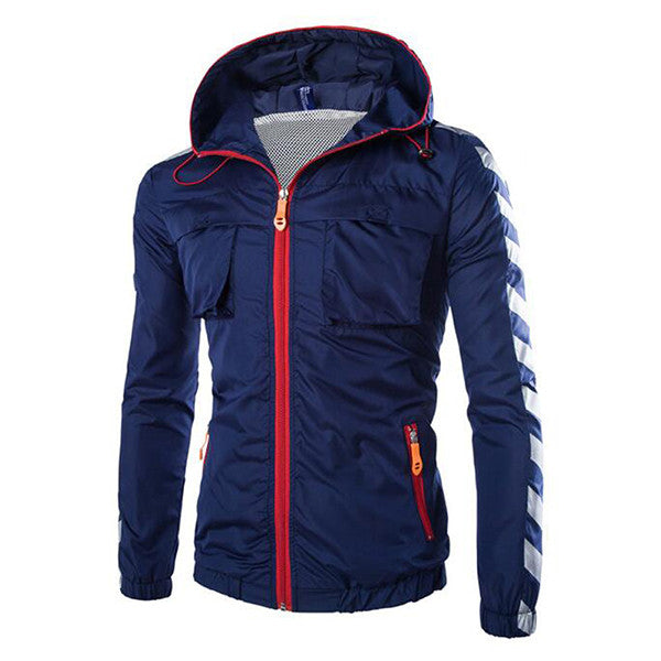 Sun Protective Jacket Navy Blue