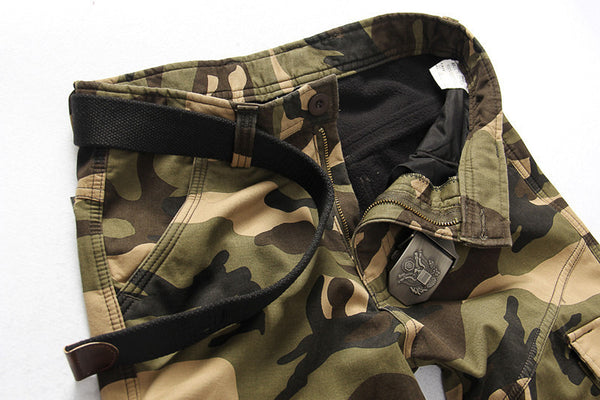 Winter Fleece Warm Camouflage Pants