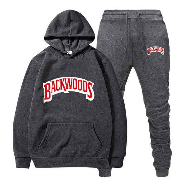 Men's Set Fleece Hoodie