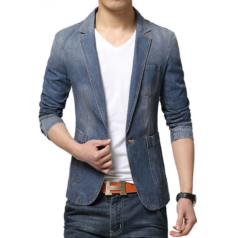 Fashion Trend Denim Blazer