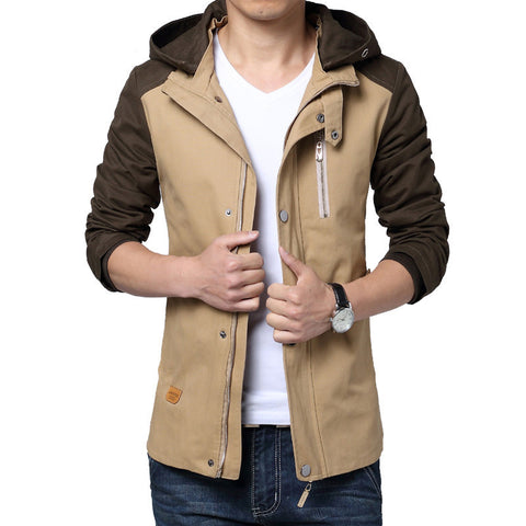 Casual Hooded Long Jacket
