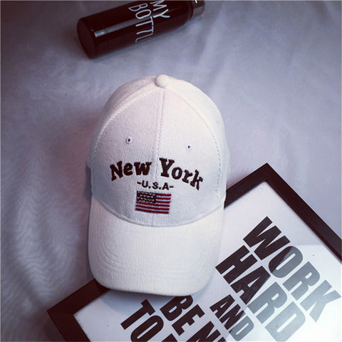USA Fashion Casual NY Baseball Cap