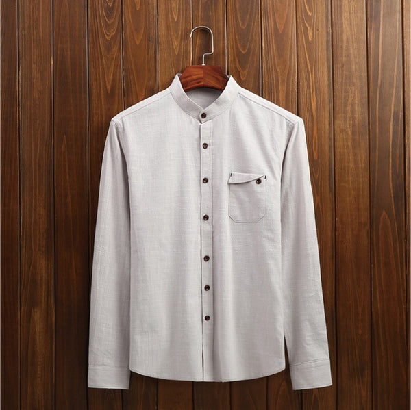 Casual Mens Shirts 4 Colors