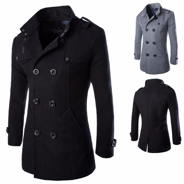 Trench Wool Coat