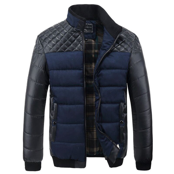 Exclusive Quilted Bomber Jacket Grey