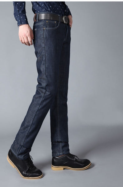 Winter Denim plus Velvet Jeans