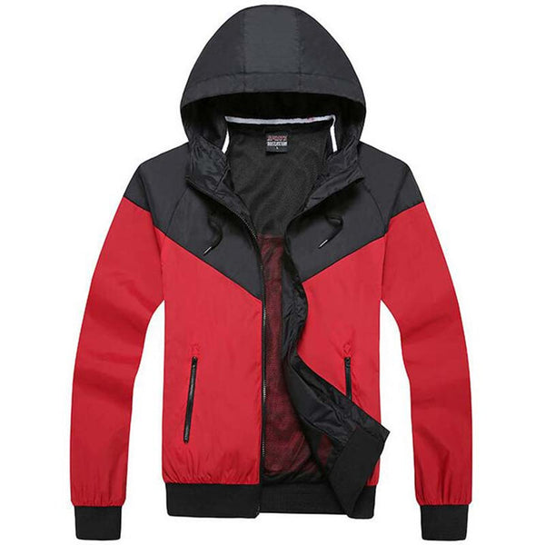 Spring Causal Jacket Red