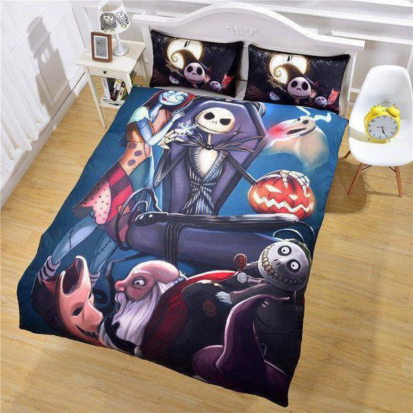 the nightmare before christmas bedding set catchy trend