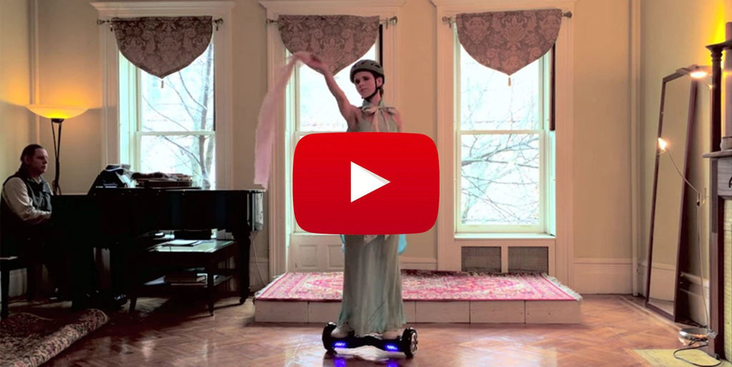 "Hoverboard Ballet Performed by ""HoverGirl"" is Oddly Hard to Stop Watching"