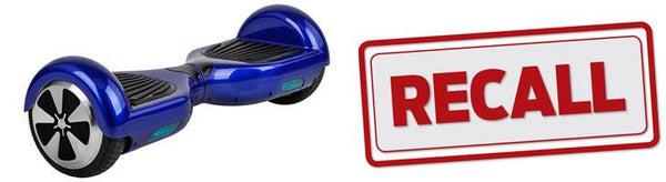 Hoverboard Recall List United States January to December 2017