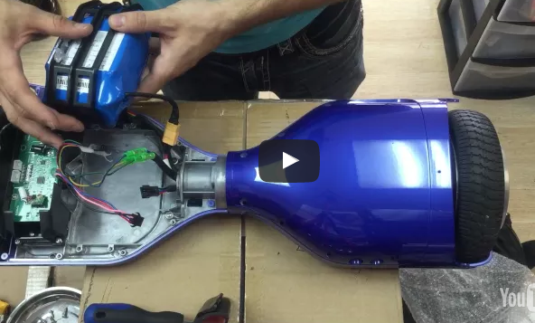 How to Install a Hoverboard Battery