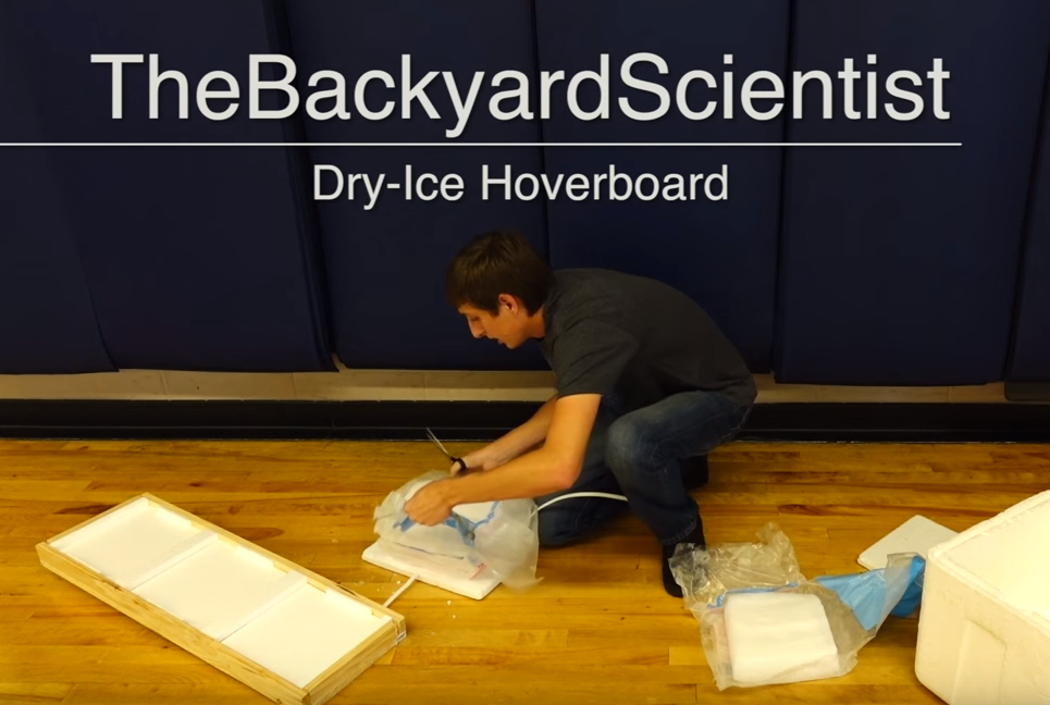 How to Make a Dry Ice Hoverboard at Home