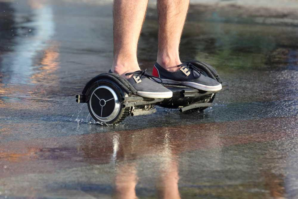 Help! My Hoverboard Got Wet! What to Do When Your Hoverboard Takes a Dive in the Water