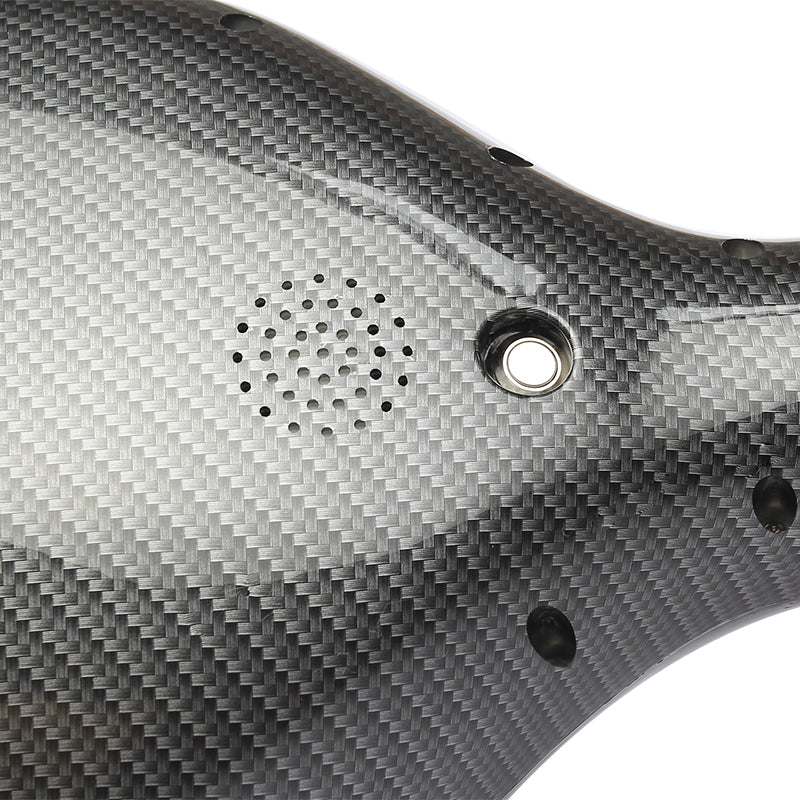 Carbon Fiber 10 Inch Hoverboard Bottom