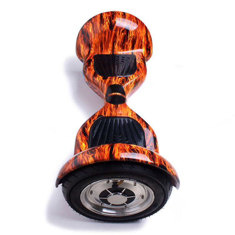 Orange 10 Inch Hoverboard Top View