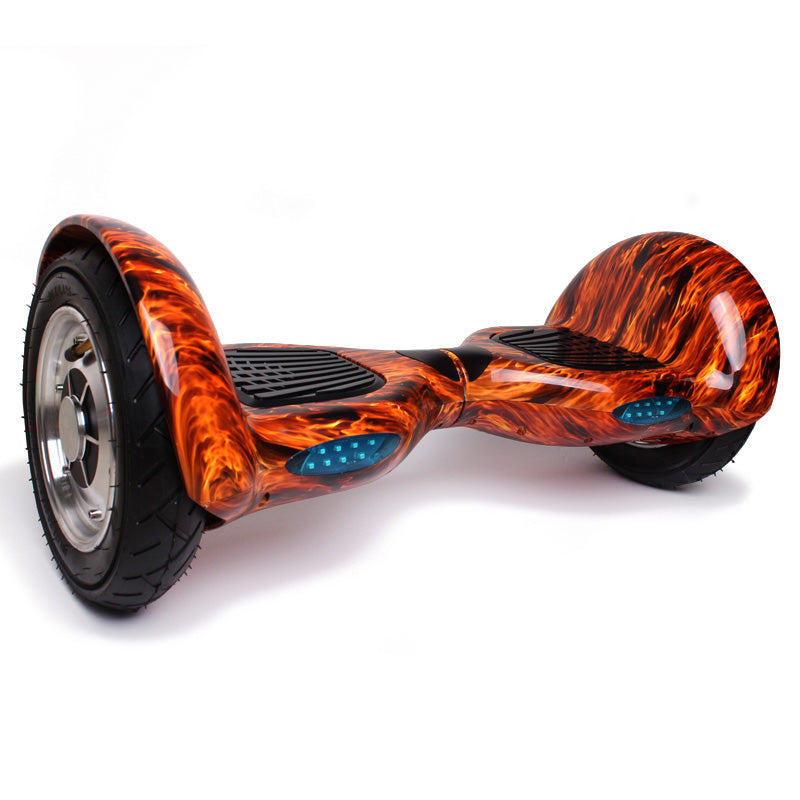 Orange Flames 10 Inch Hoverboard