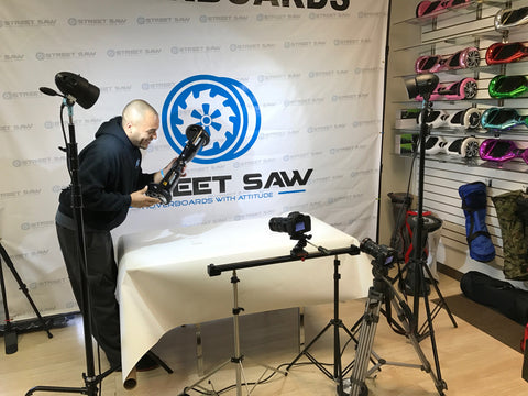 StreetSaw Hoverboards Photo Shoot