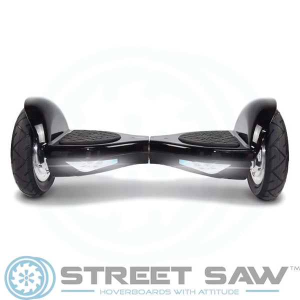 10-Inch Hoverboard with Bluetooth & Mobile App in Black by StreetSaw