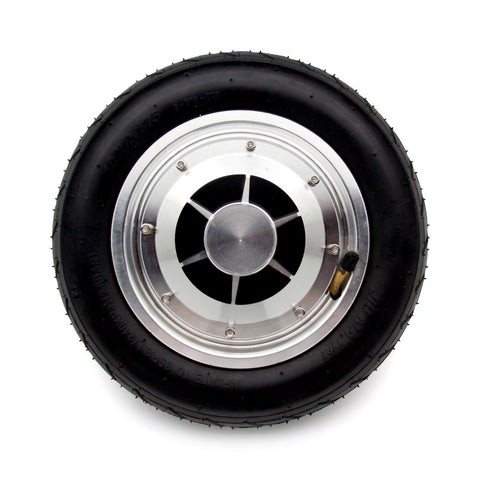 Image of Replacement Wheel, Motor, & Tire for 10 Inch Hoverboards (Wide, Heavy Duty)