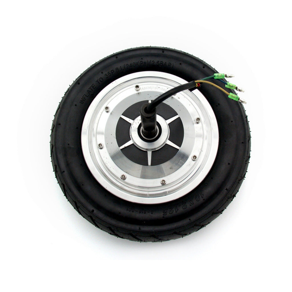 Replacement Wheel, Motor, & Tire for 10 Inch Hoverboards