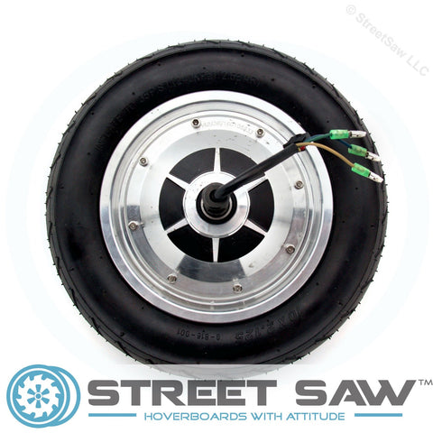 Image of 10 Inch Hoverboard Motor Green Ends
