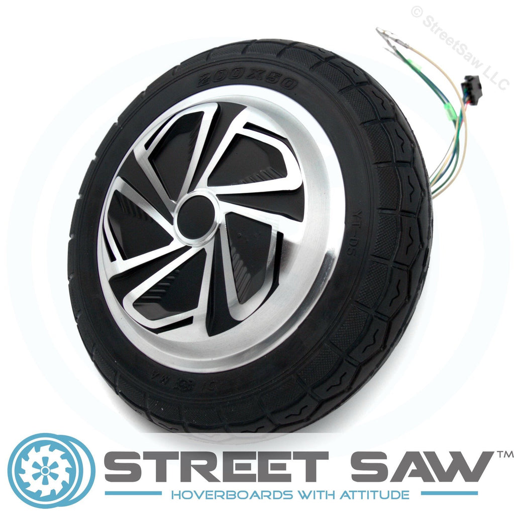 Replacement Wheel, Motor, & Tire for 8 Inch Hoverboards