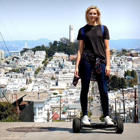 RockSaw™ Off-Road Bluetooth Hoverboard for Sale (All-Terrain)