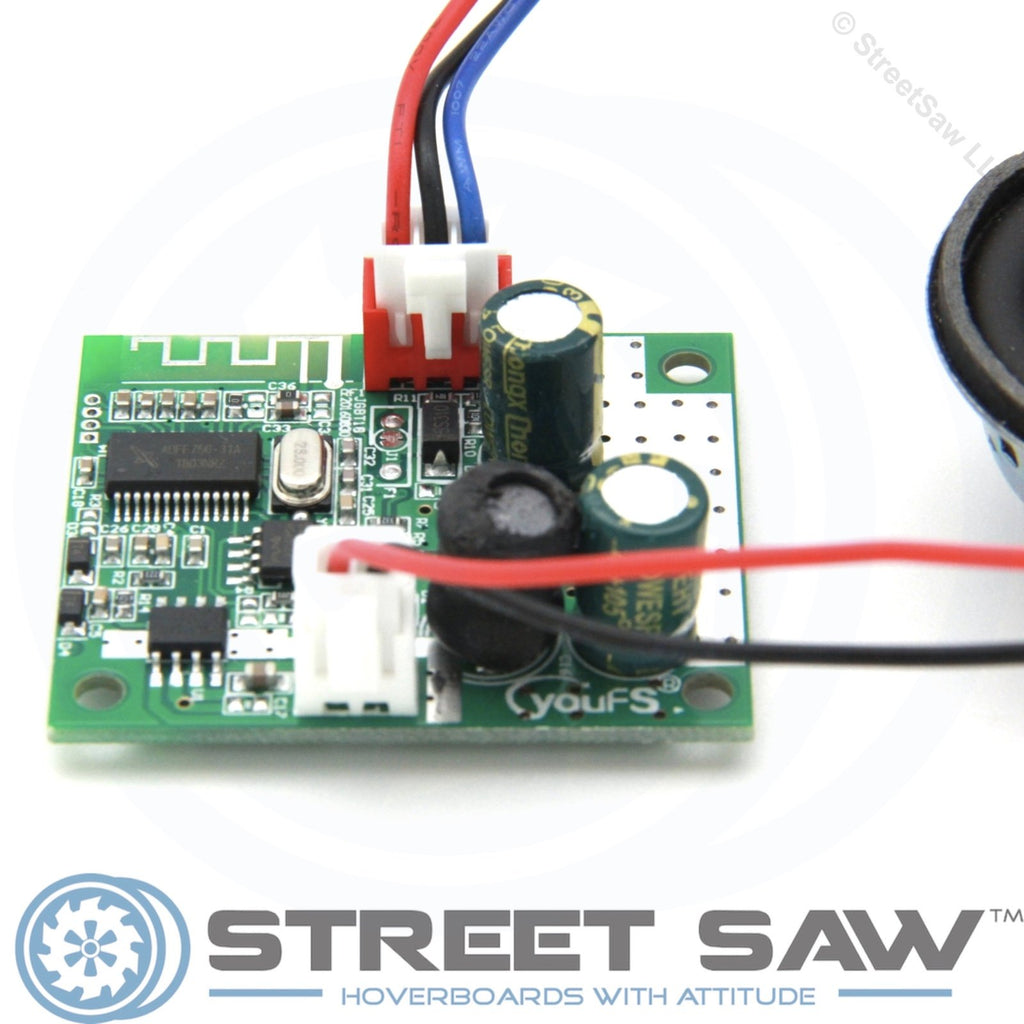 Green Hoverboard Bluetooth Add-on Chip